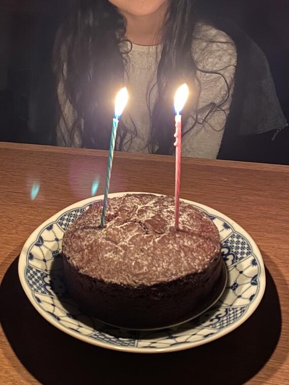 11歳のバースデーケーキ