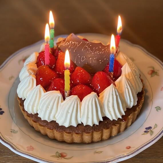 50歳のバースデーケーキ