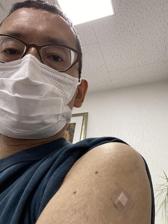 新型コロナワクチン接種2回目