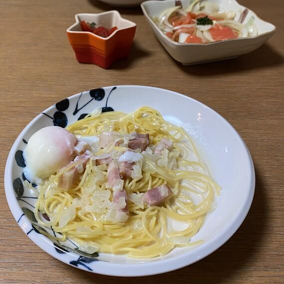 誕生日の手料理